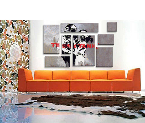 Blur Think Tank Album Cover by Banksy  Art Print