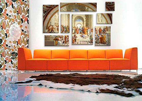 School of Athens By Raphael Art Print